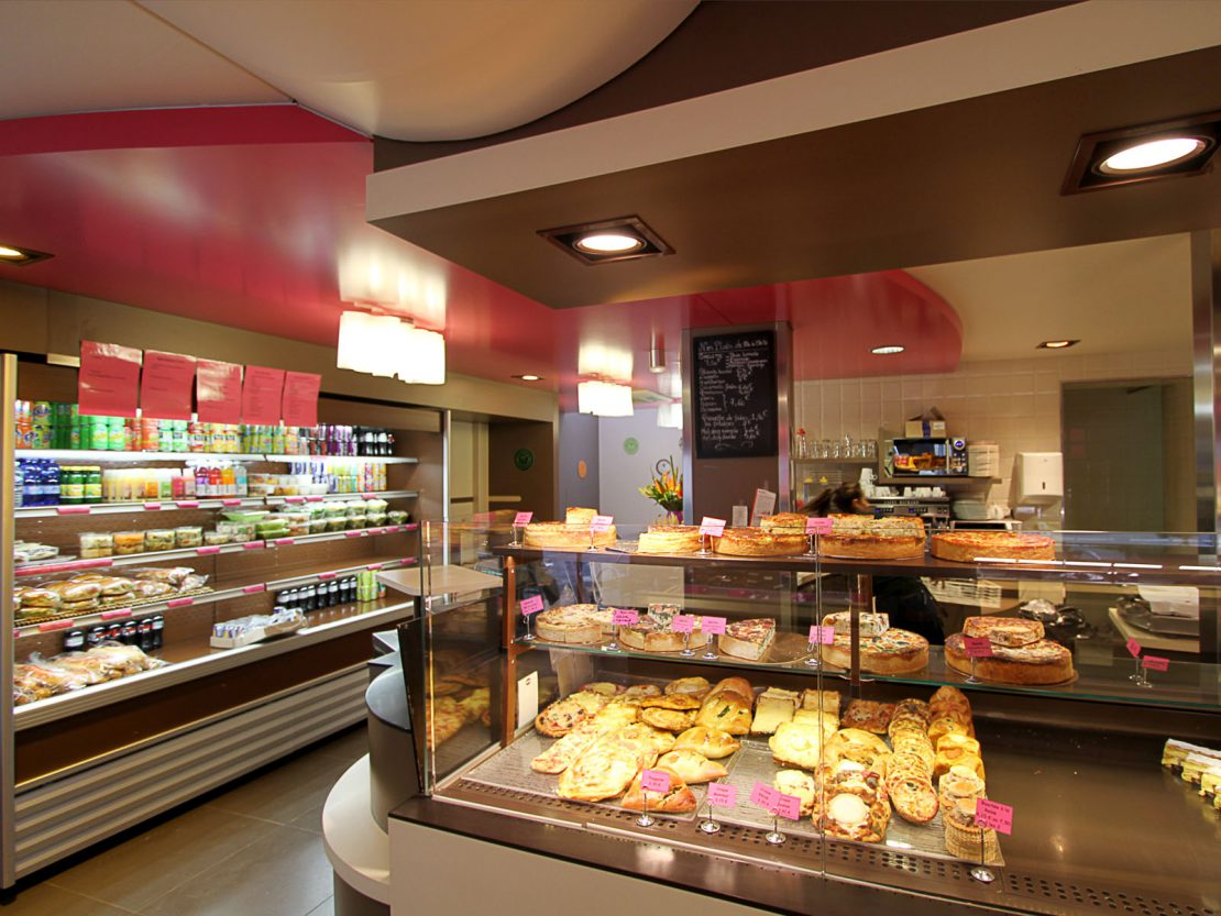 Agencement boulangerie maison launay by pep 39 s pep 39 s cr ation for Agencement maison