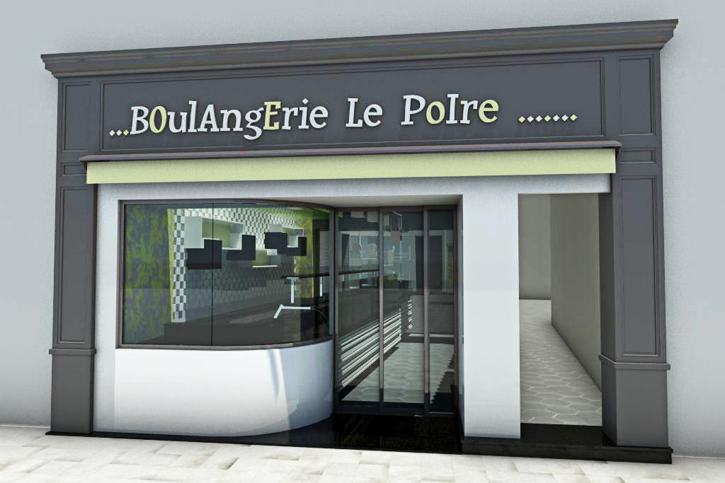 Agencement boulangerie le poire en 3d by pep 39 s pep 39 s for Agencement maison 3d
