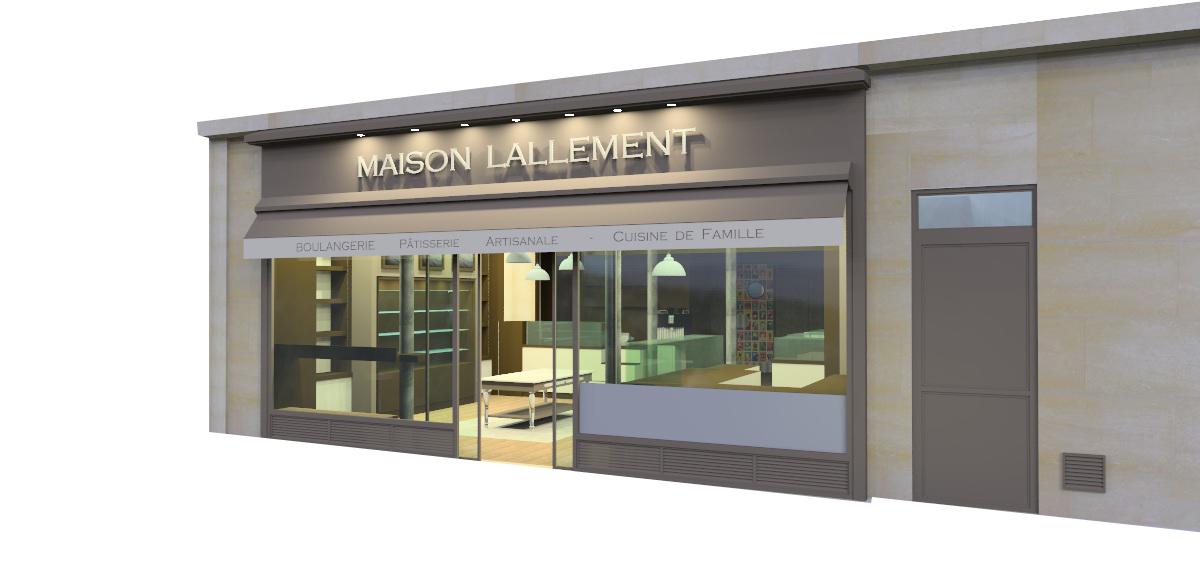 agencement boulangerie maison lallement en 3d by pep 39 s pep 39 s cr ation. Black Bedroom Furniture Sets. Home Design Ideas