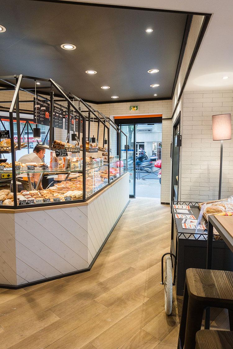 Boulangerie Campaillette Roperh circulation intérieur