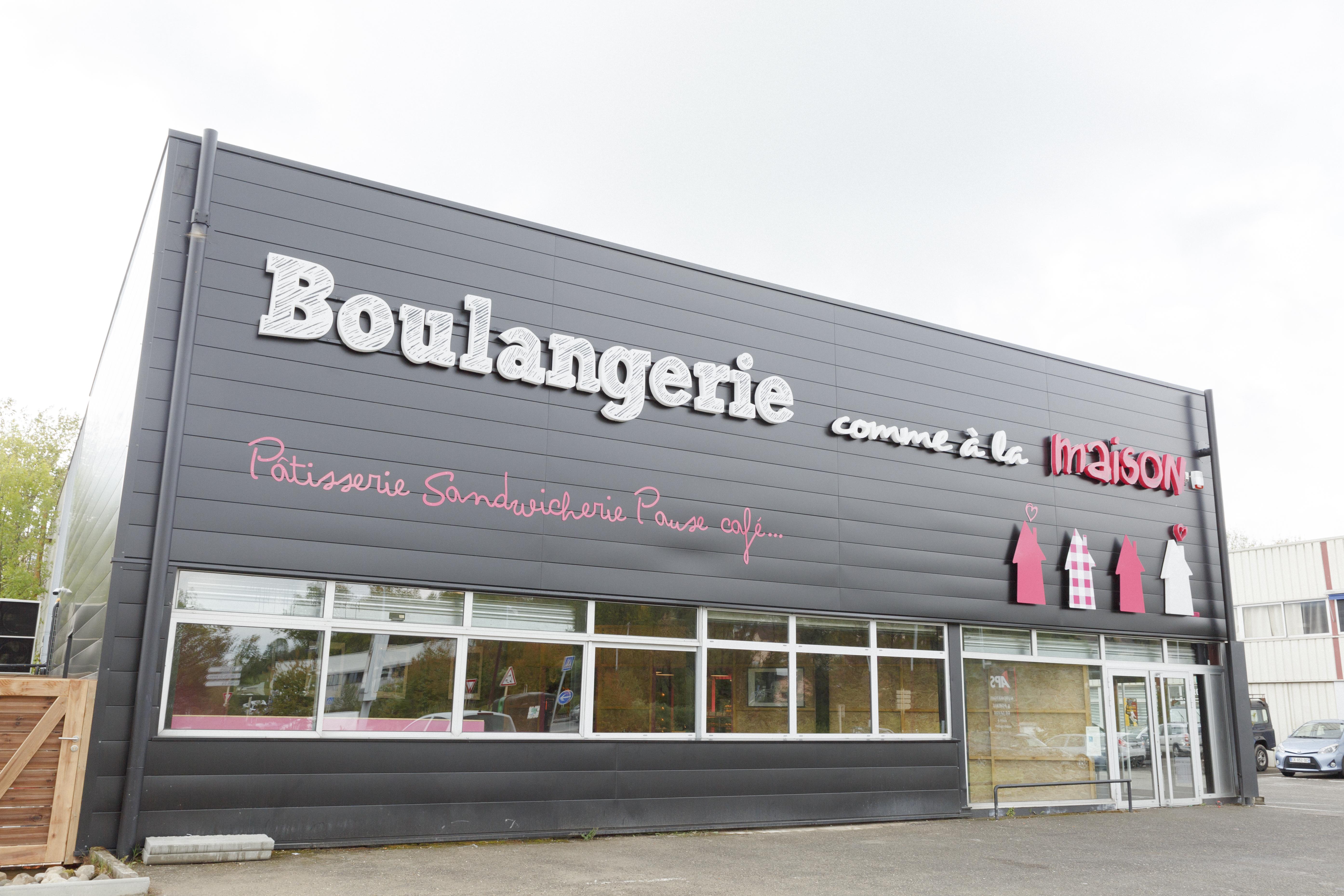 façade boulangerie moderne