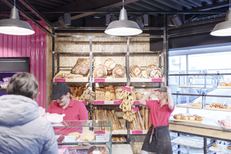 boulangerie rose tenue