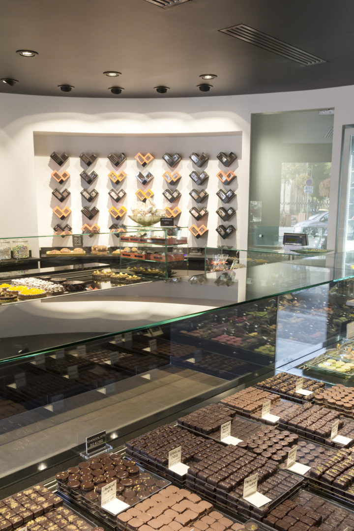 agencement magasin chocolat