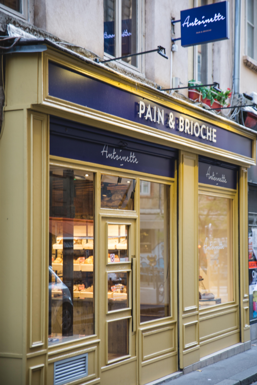 boulangerie Antoinette pain et brioche façade