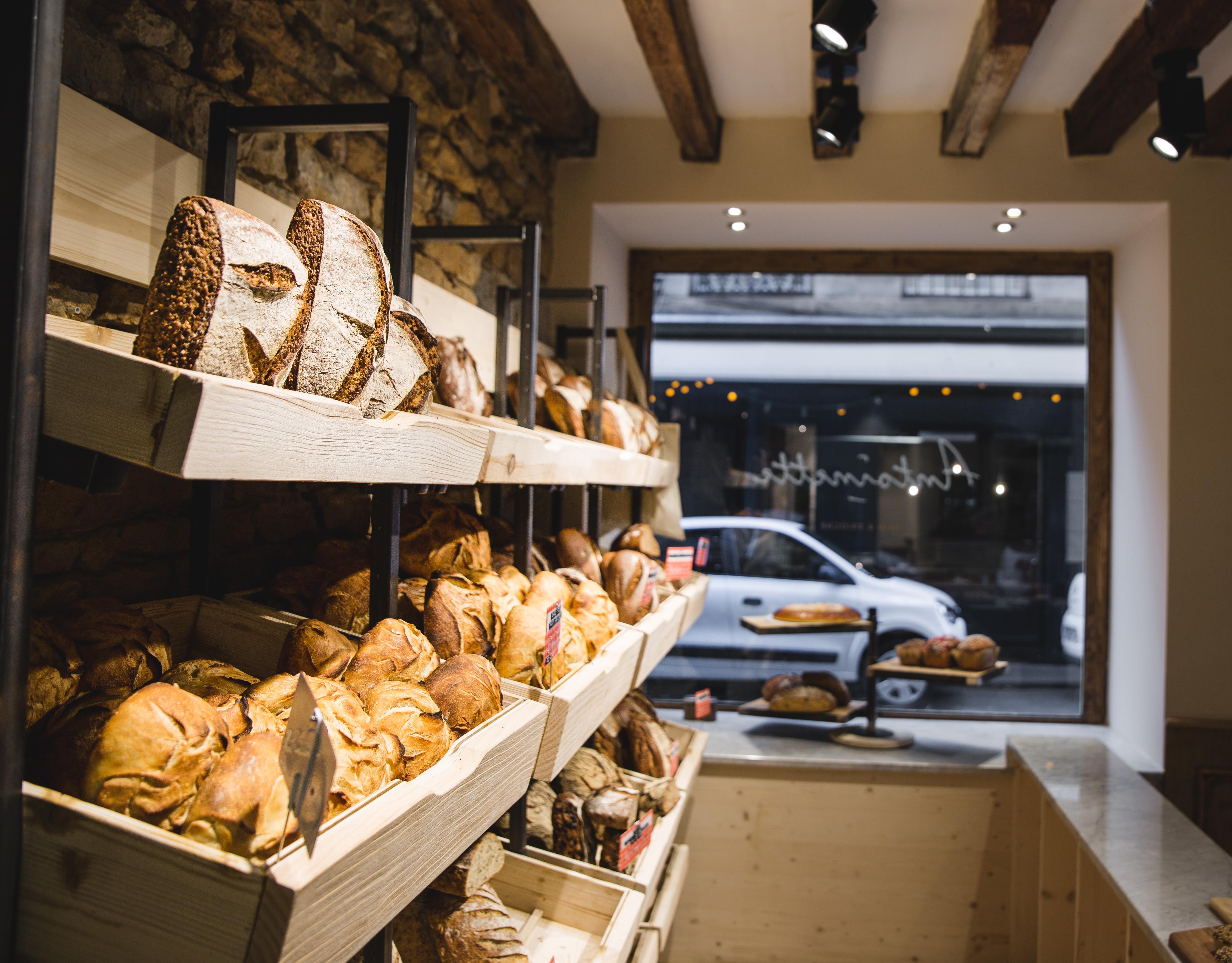 Agencement boulangerie Antoinette pains