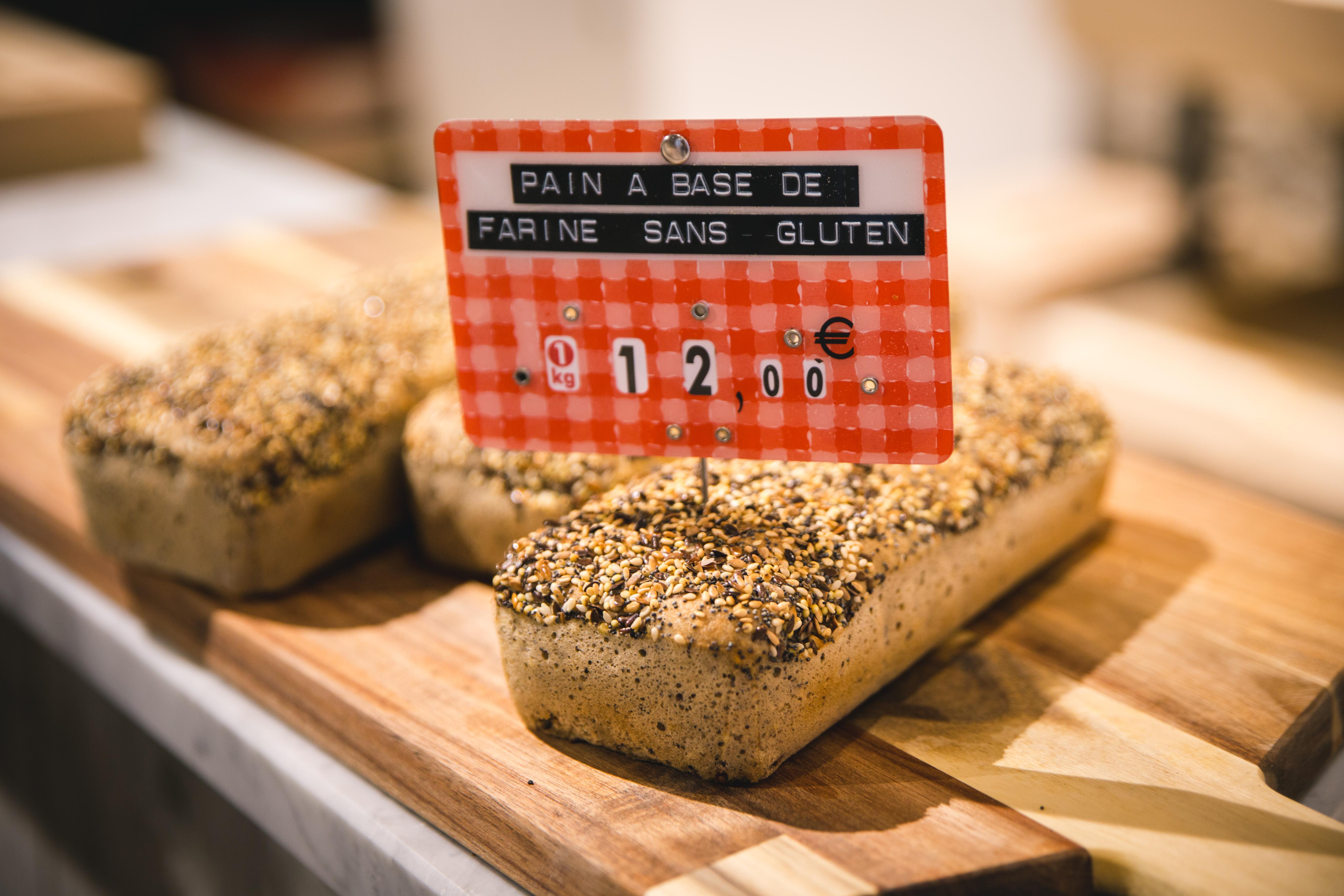 Agencement boulangerie Antoinette pains sans gluten