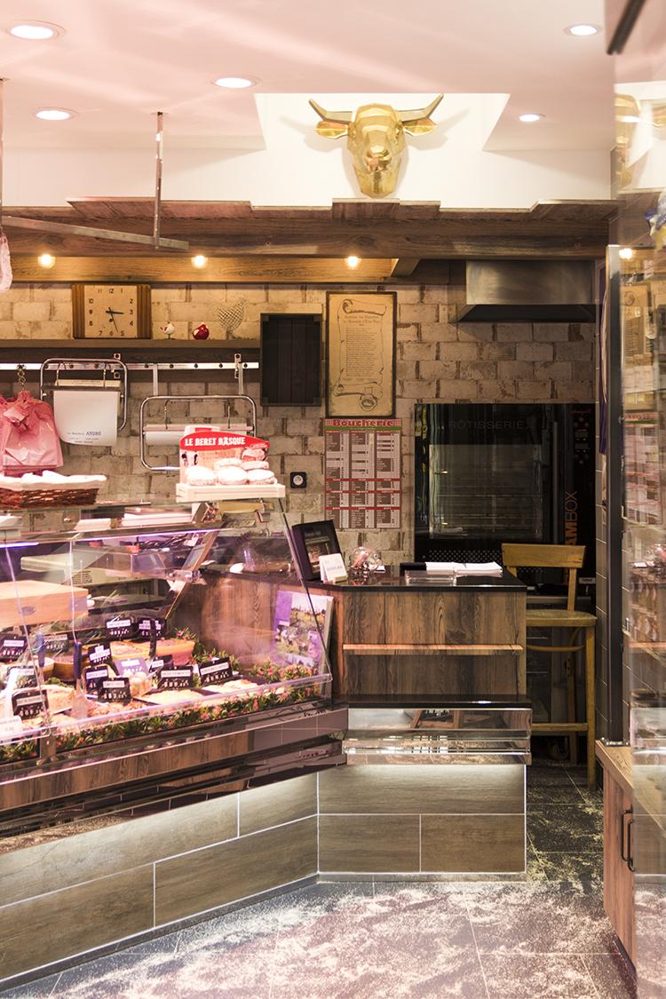 design intérieur boucherie