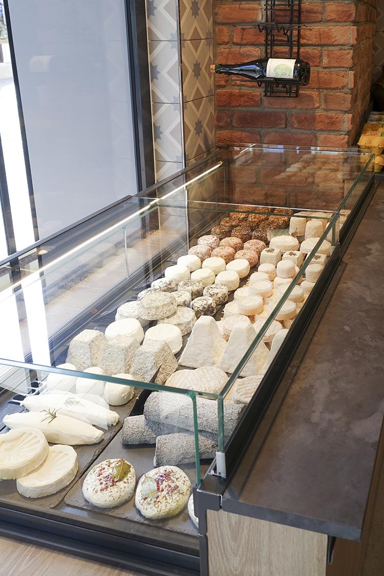 présentoir fromagerie pep's