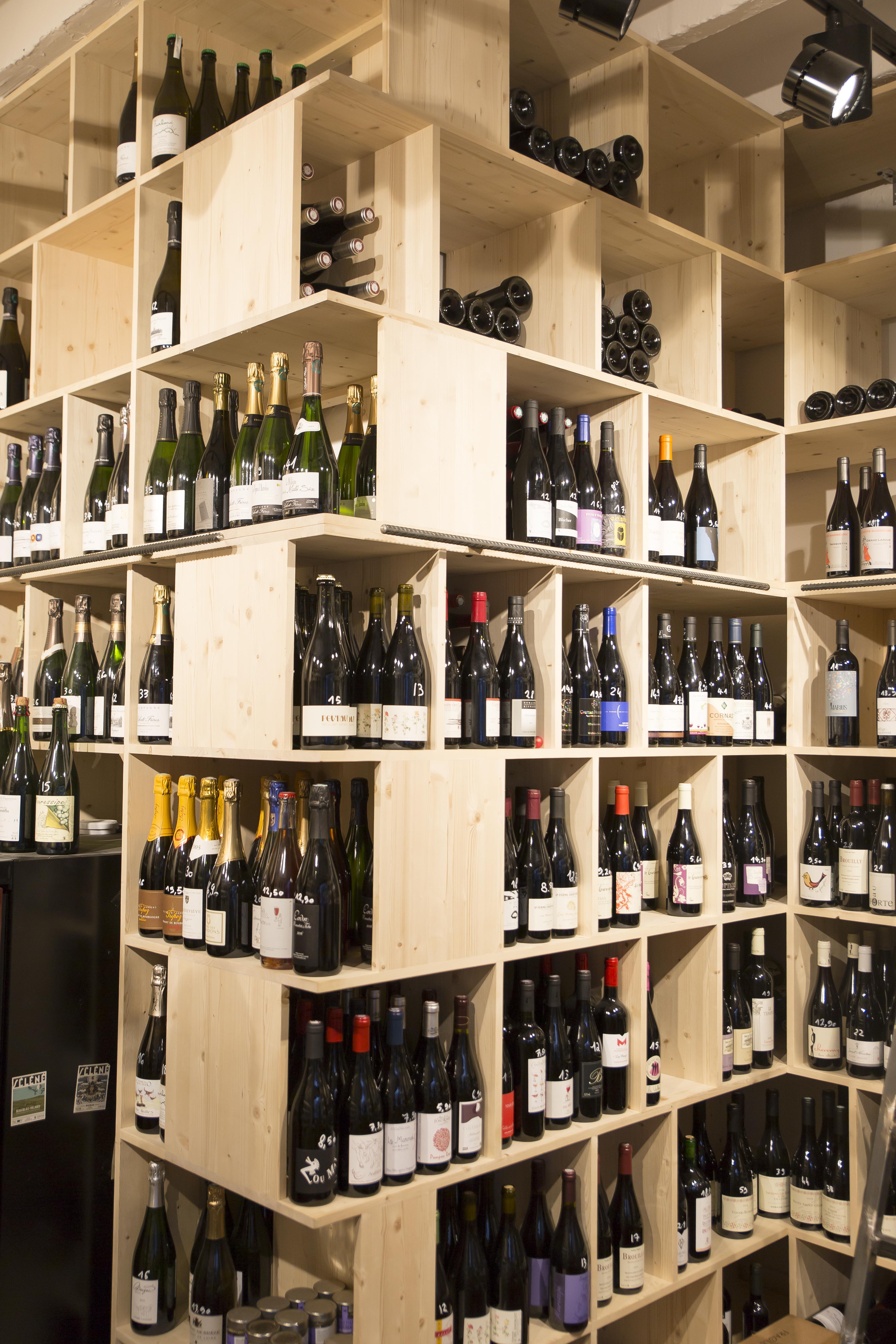 caviste vins nature bouteilles