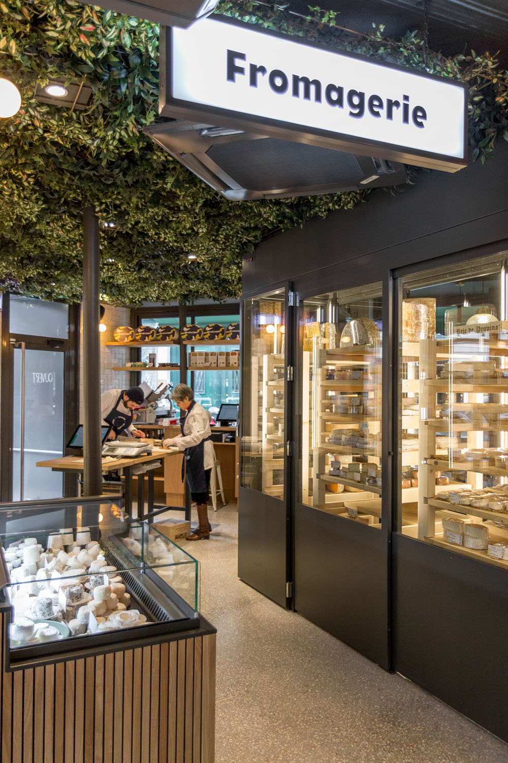 panneau lumineux fromagerie