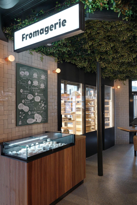 signalétique boutique fromage