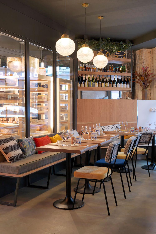 design décoration fromagerie restaurant