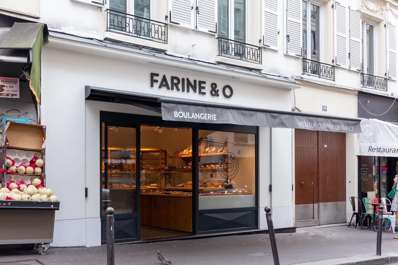 devanture boutique paris blanche farine&o 2