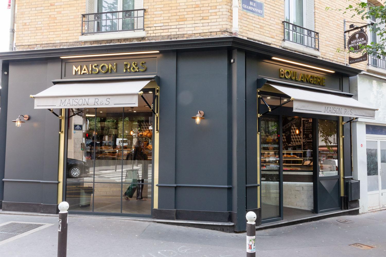 façade boulangerie paris