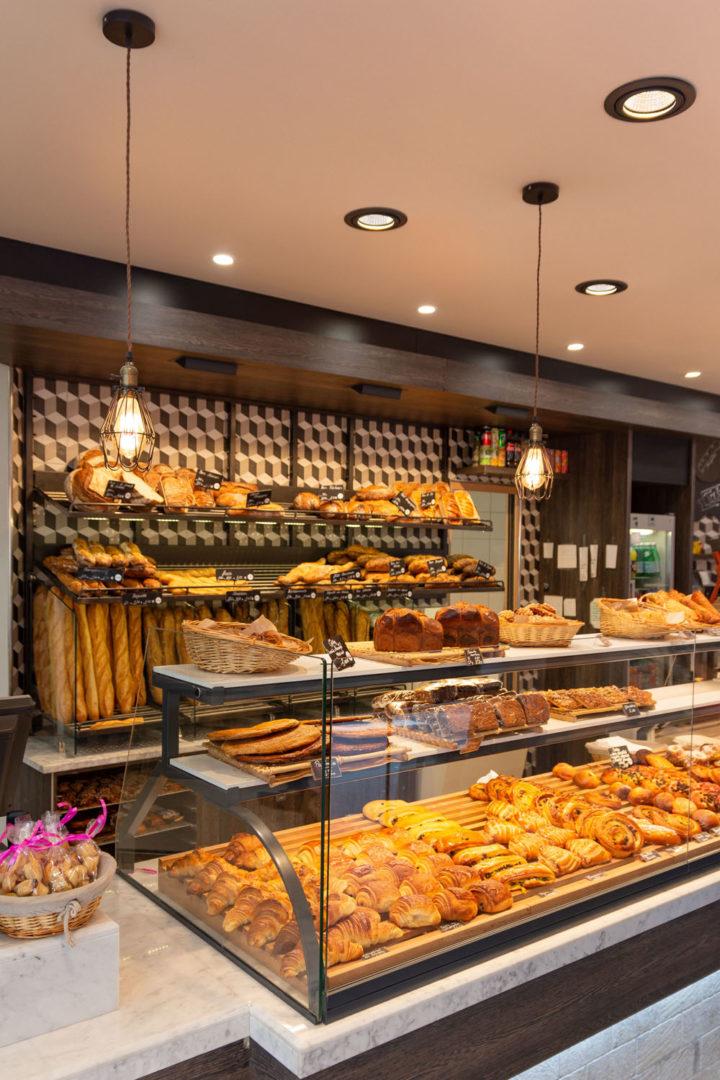 design d'intérieur boulangerie