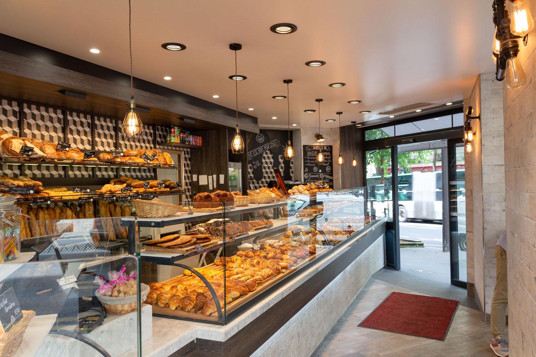 architecture intérieur boulangerie