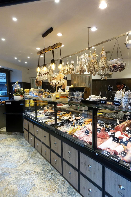 design boucherie intérieur