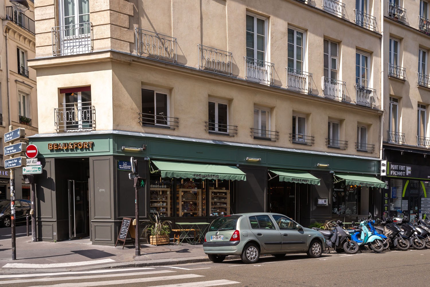 devanture magasin fromagerie