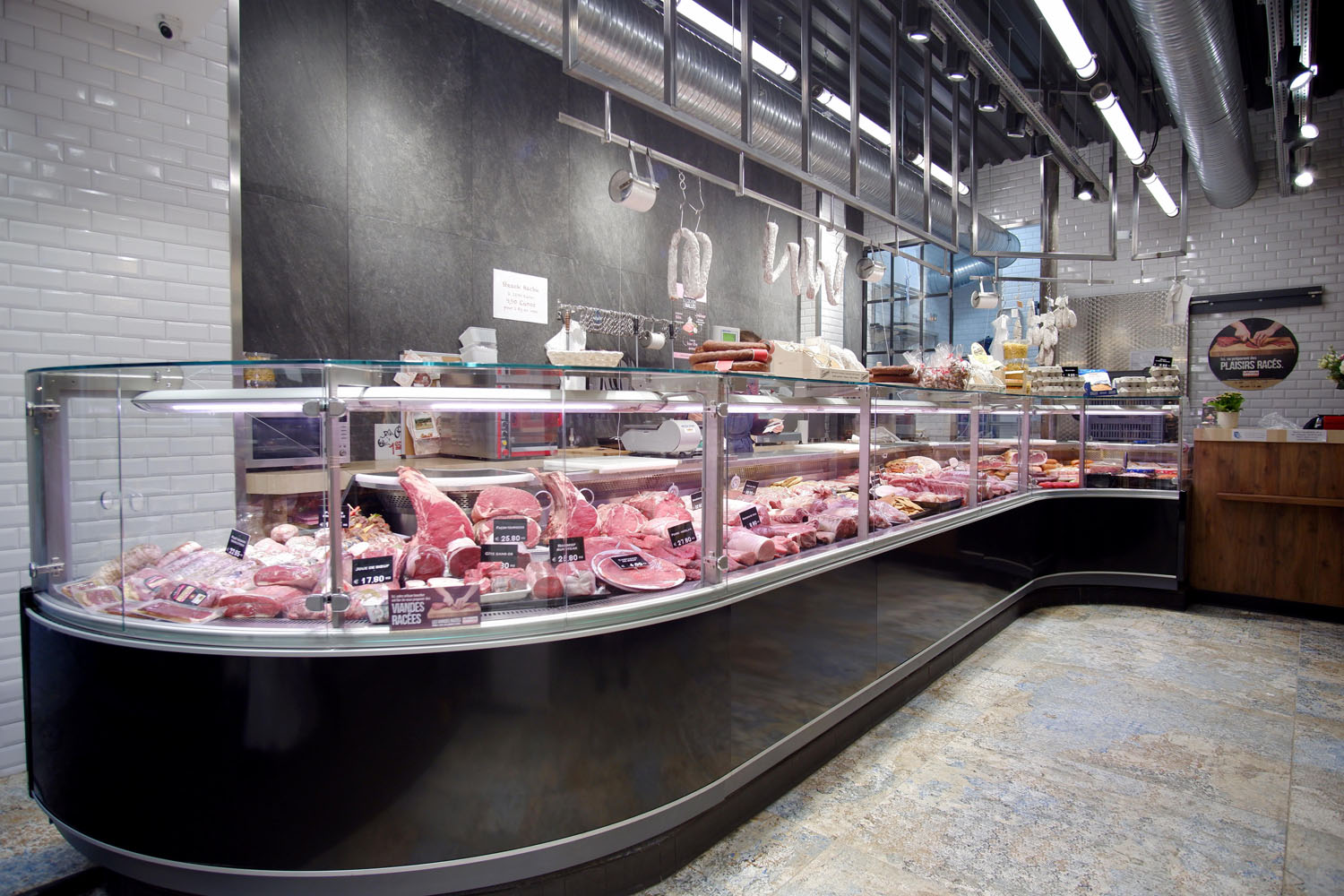 magasin alimentaire architecte