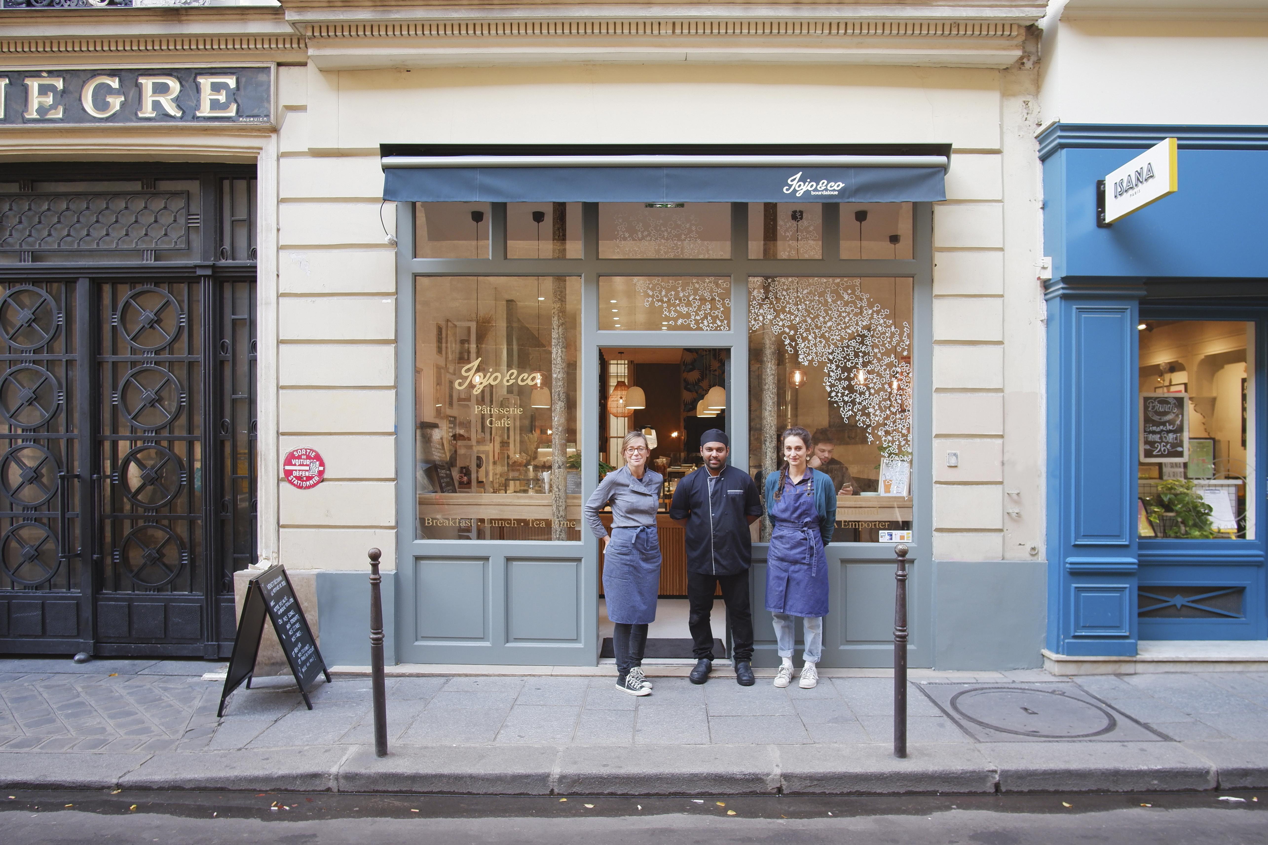 façade boutique paris