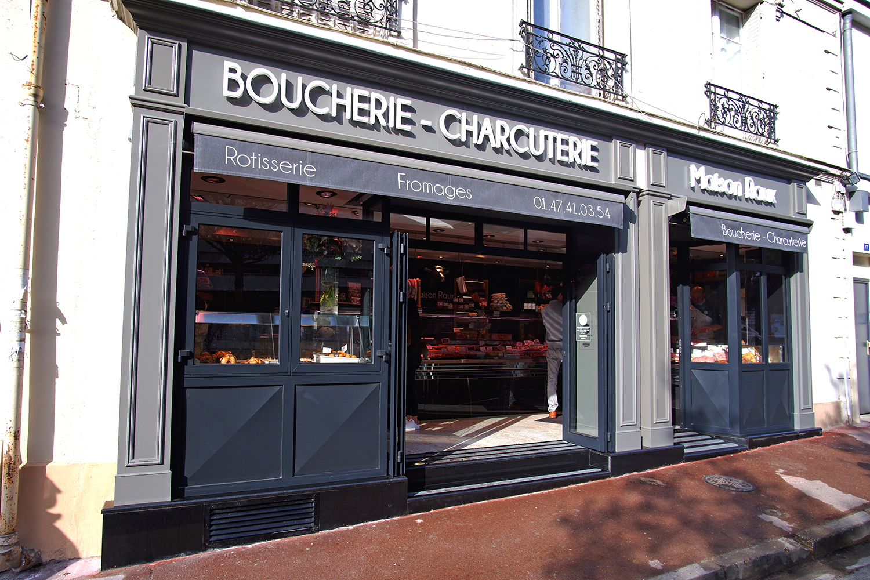 Architecture intérieur boucherie